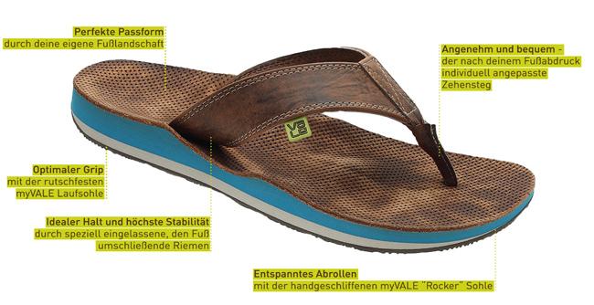 newest 8ce33 94864 Flip Flops nach Maß | myVALE