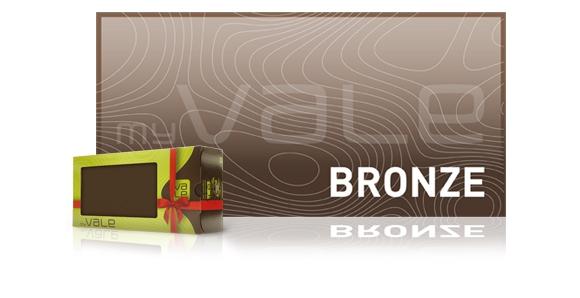 Geschenkbox Bronze