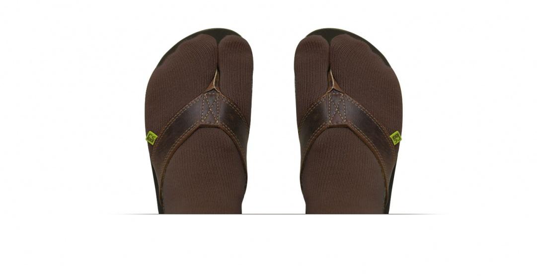 toesocks brown size